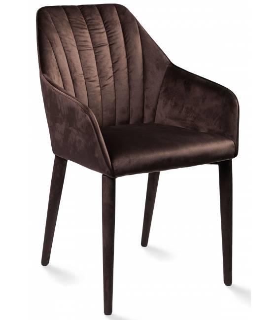 Krėsliukas DEBORA tamsiai rudas