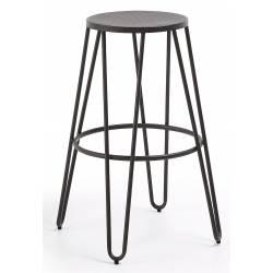 Baro kėdė MALLONE juoda