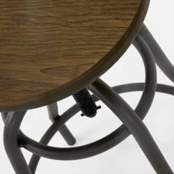 Baro kėdė MALIBU juoda