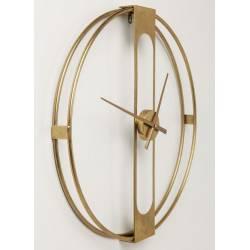 Laikrodis CLIP Ø60 auksinis
