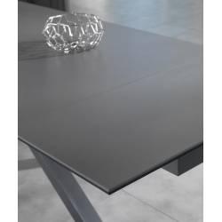 Išskleidžiamas stalas ARGO 120(170)x80 grafito