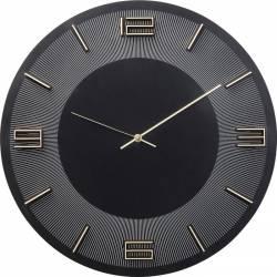 Laikrodis LEONARDO BLACK GOLD Ø48