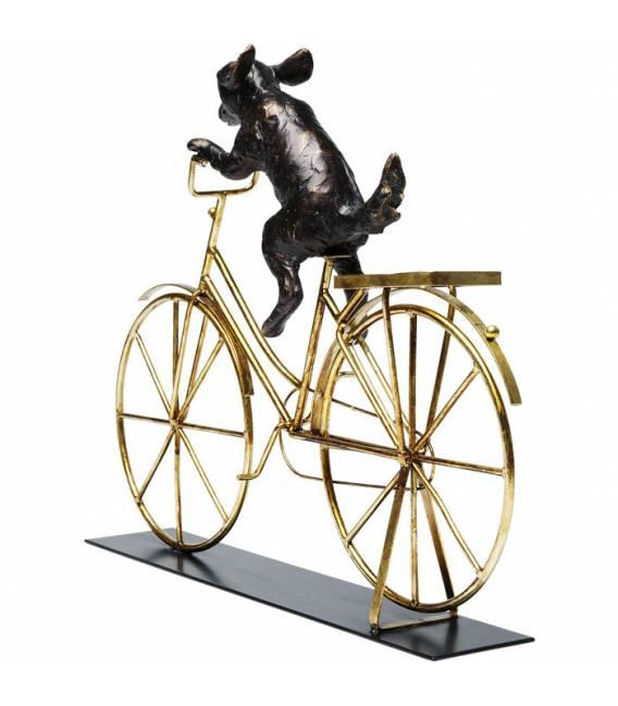 Dekoracija DOG WITH BICYCLE