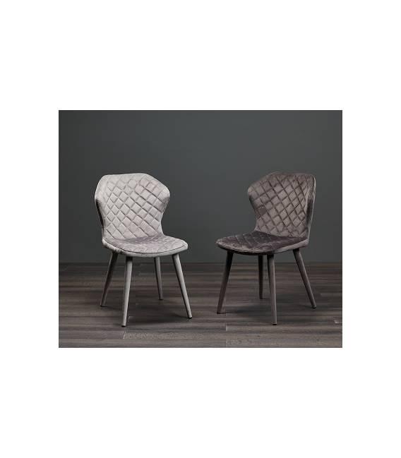 Kėdė BONNY VIC tamsiai pilka