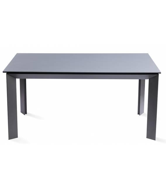 Išskleidžiamas stalas ORIO 160(240)x90 tamsiai pilkas