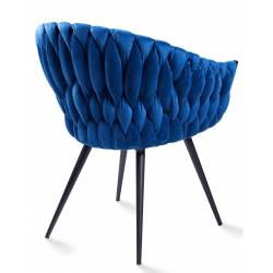 Krėsliukas ANDREA VIC mėlynas