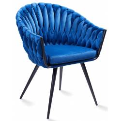 Krėsliukas ANDREA VIC mėlyna