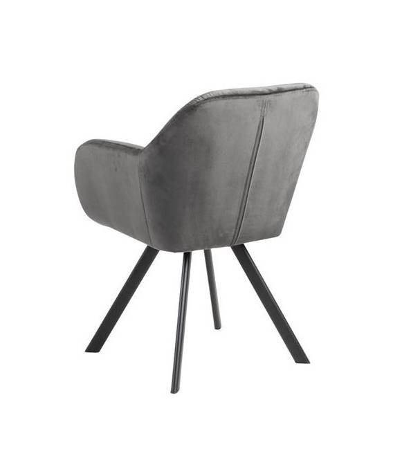 Krėsliukas 80433 VIC tamsiai pilkas