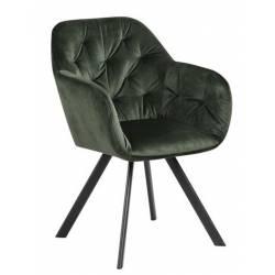 Krėsliukas 80431 VIC tamsiai žalias