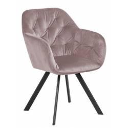 Krėsliukas 82117 VIC rožinis/sukasi