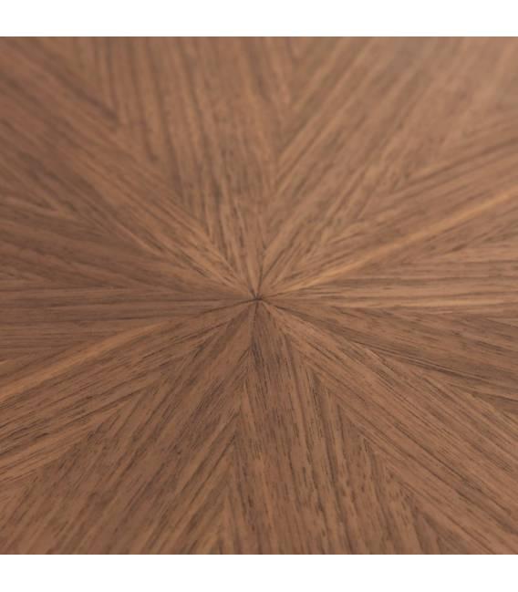 Ovalus stalas NAANIM 180x110 rudas