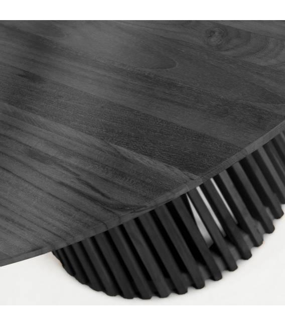 Apvalus stalas IRUNE Ø120 juodas