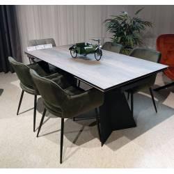 Išskleidžiamas stalas DORIANO 160(240)x90 medžio imitacija