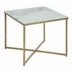 Šoninis staliukas 74145 50x50 marmuro