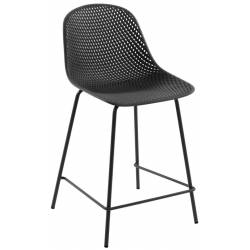 Pusbario kėdė QUINBY tamsiai pilka