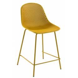 Pusbario kėdė QUINBY geltona