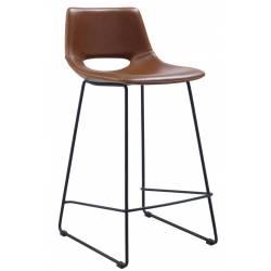 Pusbario kėdė ZAHARA ruda