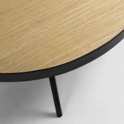 Kavos staliukas NENET Ø84 šviesiai rudas