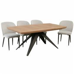 Išskleidžiamas stalas FARO 180(280)x100