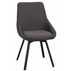 Kėdė ALISON tamsiai pilka
