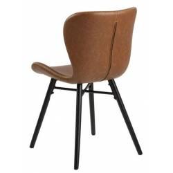 Kėdė 19037 PU ruda