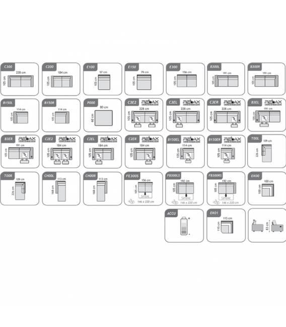 Minkštas kampas LOGANO 300x226