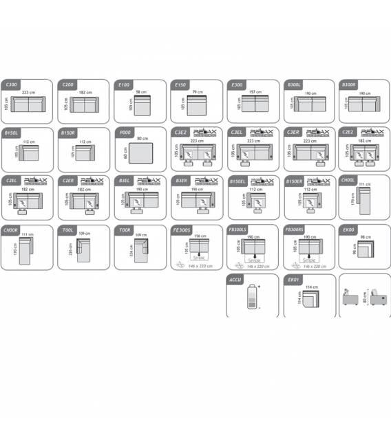 Minkštas kampas QUEBEC 299x226