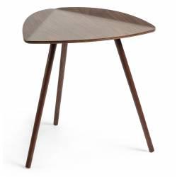 Šoninis staliukas DAMASC 47x45 tamsiai rudas