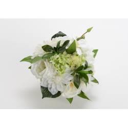 Dirbtinė gėlių puokštė VILLANDRY H24