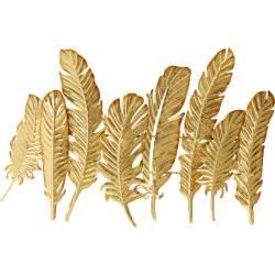 Kabykla LEAF GOLD aukso