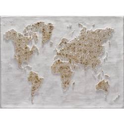 Paveikslas GOLDEN MAP 90x120