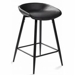 Pusbario kėdė CLEO PU juoda