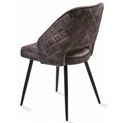 Kėdė UNA VIC tamsiai pilka