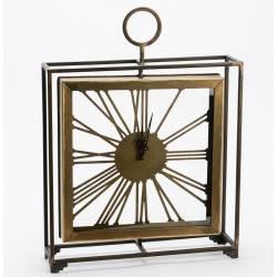 Laikrodis ALFRED 52x39 aukso