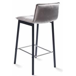 Pusbario kėdė LUNA VIC šviesiai pilka