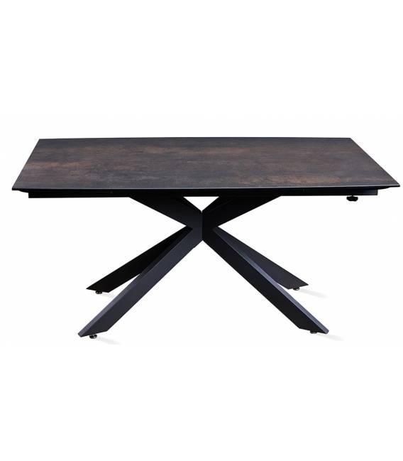 Išskleidžiamas stalas RENZO IRON MOSS 160(240)x90x76