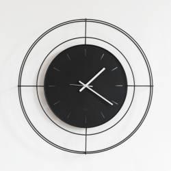 Laikrodis ORLOGIO Ø59 juodas