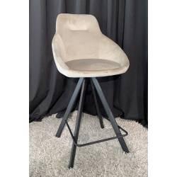 Pusbario kėdė ALUMNA VIC šviesiai ruda