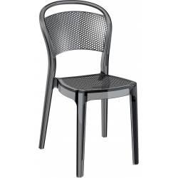 Kėdė BEE juoda skaidri