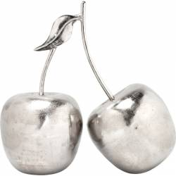 Dekoracija CHERRY SMALL sidabrinė