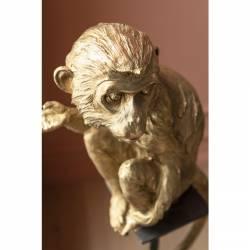 Dekoracija CIRCUS MONKEY aukso