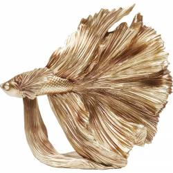 Dekoracija FISH GOLD SMALL aukso