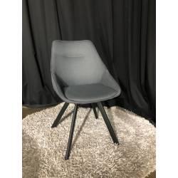 Kėdė RUBY tamsiai pilka