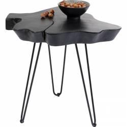 Šoninis staliukas ASPEN 50x50 juodas
