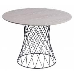 Apvalus stalas RETE Ø105 cappucino faneruotė