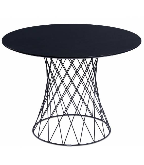Apvalus stalas RETE Ø105 wenge faneruotė