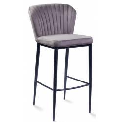 Baro kėdė ROMINA VIC tamsiai pilka