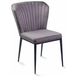 Kėdė ROMINA VIC tamsiai pilka