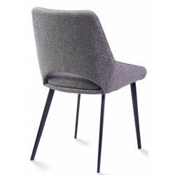 Kėdė DAISY rusvai pilka