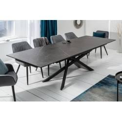Išskleidžiamas stalas EUPHORIA 180(220/260)x90x77 pilka